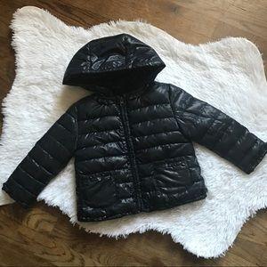 Girls Zara puffer jacket 12/18m. B2